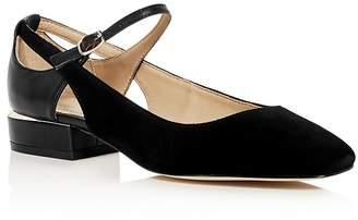 Pour La Victoire Selma Mary Jane Low Heel Pumps $245 thestylecure.com