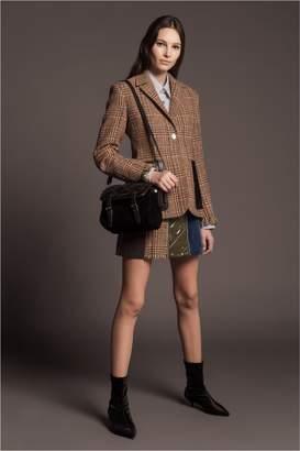 Sonia Rykiel Checked Tweed Jacket