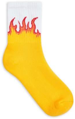 Topshop Flame Tube Socks