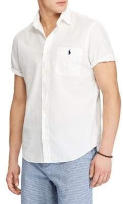 Polo Ralph Lauren Big and Tall Classic-Fit Cotton Sport Shirt