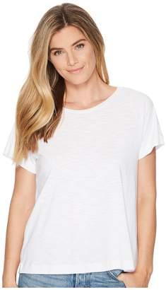 Lilla P Short Sleeve Pleat Back Women's Clothing