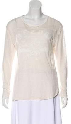 Etoile Isabel Marant Lightweight Long Sleeve Top