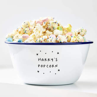 Sophia Victoria Joy Little Stars Personalised Popcorn Bowl