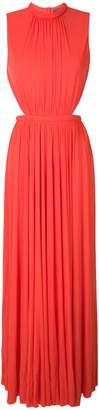 Alexander McQueen open back gown