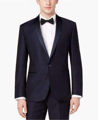 Ryan Seacrest Distinction Men Navy Modern-Fit Tuxedo Jacket