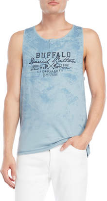 Buffalo David Bitton Graphic Logo Muscle Tank