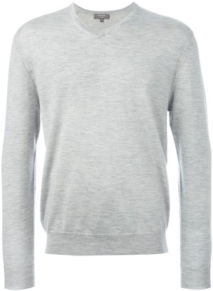 N.Peal 'The Conduit' V neck jumper