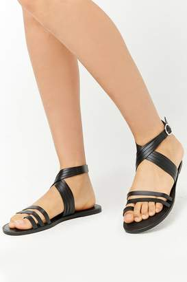 Forever 21 Faux Leather Sandals