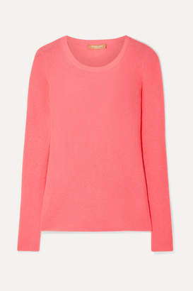 Michael Kors Ribbed Cashmere Sweater - Coral