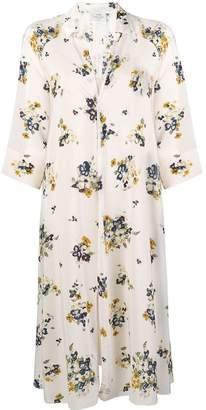 Forte Forte floral shirt dress