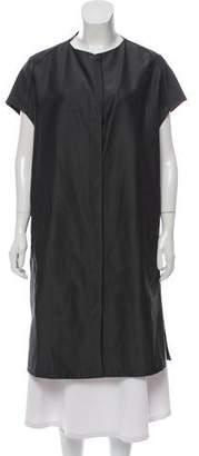 Calvin Klein Collection Longline Short Sleeve Jacket