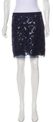 Philosophy di Alberta Ferretti Embroidered Mini Skirt