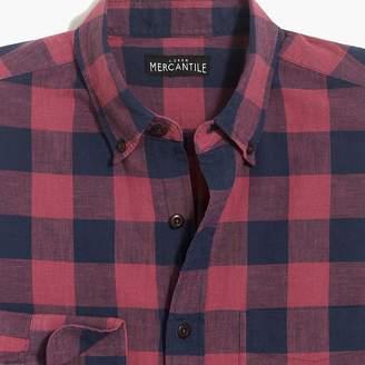 J.Crew Factory Slim-fit homespun shirt in check