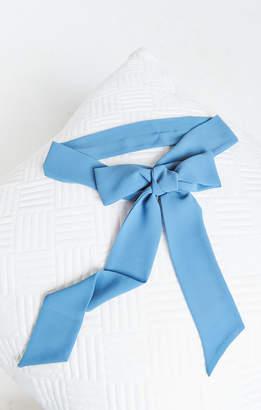 Show Me Your Mumu Bridesmaids Sash ~ Coastal Blue Chiffon