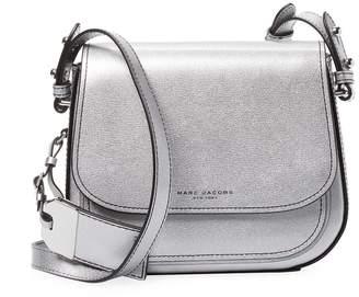 Marc Jacobs Women's Metallic Leather Saddle Bag