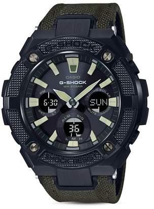 Casio G-Shock Analog/Digital Watch, 52.4mm