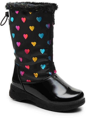 totes Anna Toddler & Youth Snow Boot - Girl's