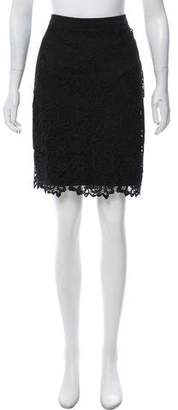 Karl Lagerfeld Knee-Length Embroidered Skirt w/ Tags