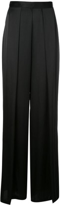 Kiki de Montparnasse pleated wide leg trousers