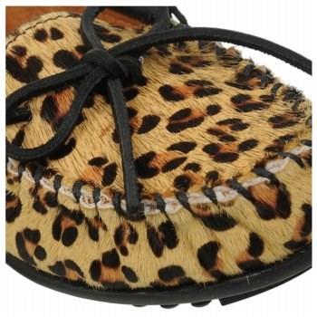 Minnetonka Moccasin Women's Leopard Moc