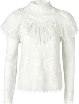 See by Chloe Sheer blouse