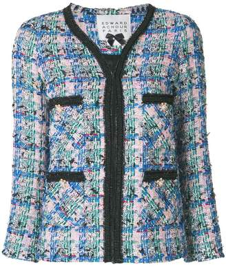 Edward Achour Paris classic tweed jacket