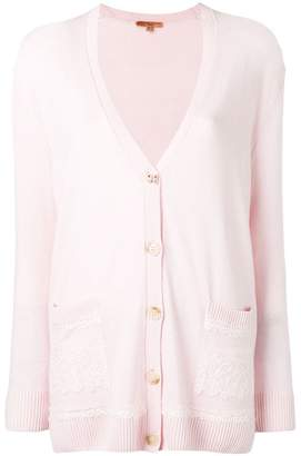 Ermanno Scervino deep V-neck cardigan