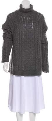 Christopher Kane Mohair Turtleneck Sweater