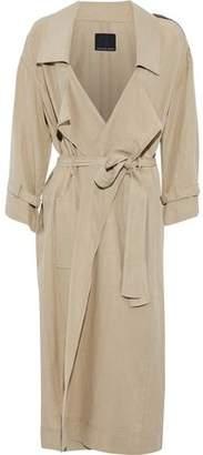 Marissa Webb Tencel And Linen-Blend Trench Coat