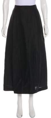 Max Mara 'S Solid Midi Skirt w/ Tags