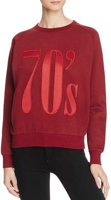 Eleven Paris '70s Sweatshirt $98 thestylecure.com