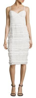 Trina Turk Stow Fringed Lace Dress $398 thestylecure.com