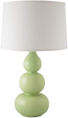 Asstd National Brand River Ceramic Triple Gourd Table Lamp