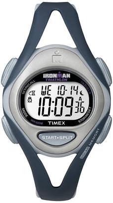 Timex Ironman Womens Blue Resin Strap 50-Lap Watch T5K4519J