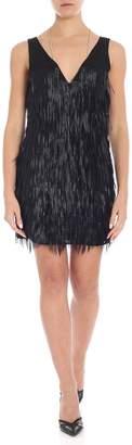 Patrizia Pepe Fringed Mini Dress
