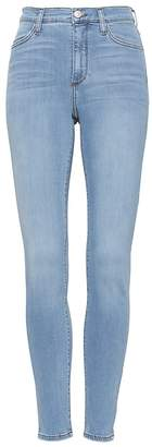 Banana Republic High-Rise Legging-Fit Luxe Sculpt Light Wash Ankle Jean