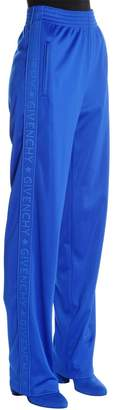Givenchy Logo Bands Neoprene Jersey Track Pants