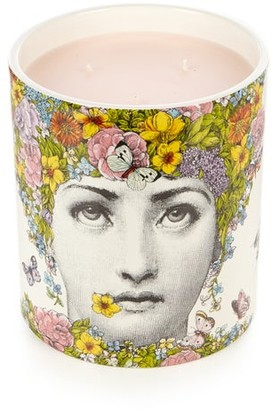 Fornasetti Flora Floral Scented Large Candle - Mens - Multi