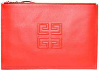 Givenchy 4g Embossed Clutch