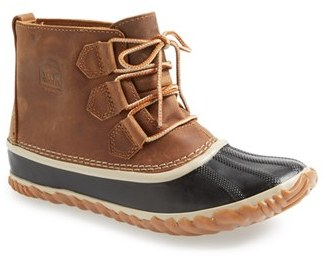 Women's Sorel 'Out N About' Leather Boot