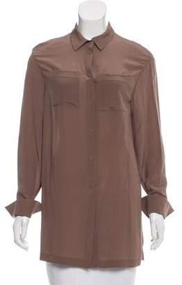 Alena Akhmadullina Silk Oversize Top