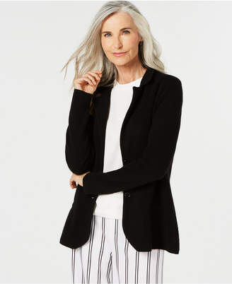 Charter Club Pure Cashmere Blazer in Regular & Petite Sizes, Created for Macy's