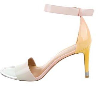 Marc by Marc Jacobs Patent Multicolor Sandals $85 thestylecure.com