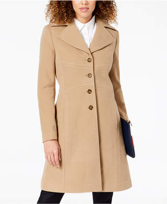 Tommy Hilfiger (トミー ヒルフィガー) - Tommy Hilfiger Petite Single-Breasted Coat