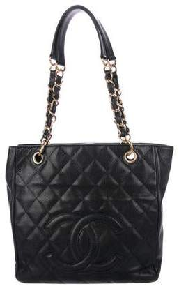 Chanel Petit Shopping Tote Tote