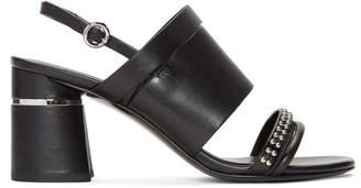 3.1 Phillip Lim Black Multi Strap Drum Sandals
