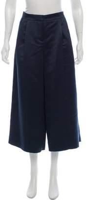 Tibi Cropped Wide-Leg Pants w/ Tags