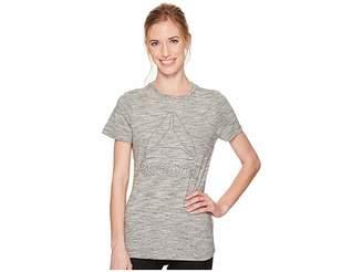 Reebok Elements Marble Logo Tee Women's T Shirt