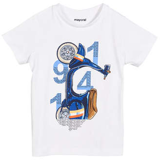 Mayoral 1941 Scooter Graphic Tee, Size 4-7