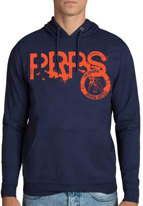 PRPS Goods & Co. Immense Logo-Print Hooded Fleece Sweatshirt